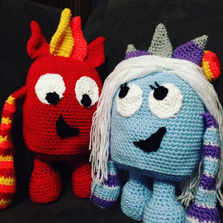 Free Crochet Monster Pattern