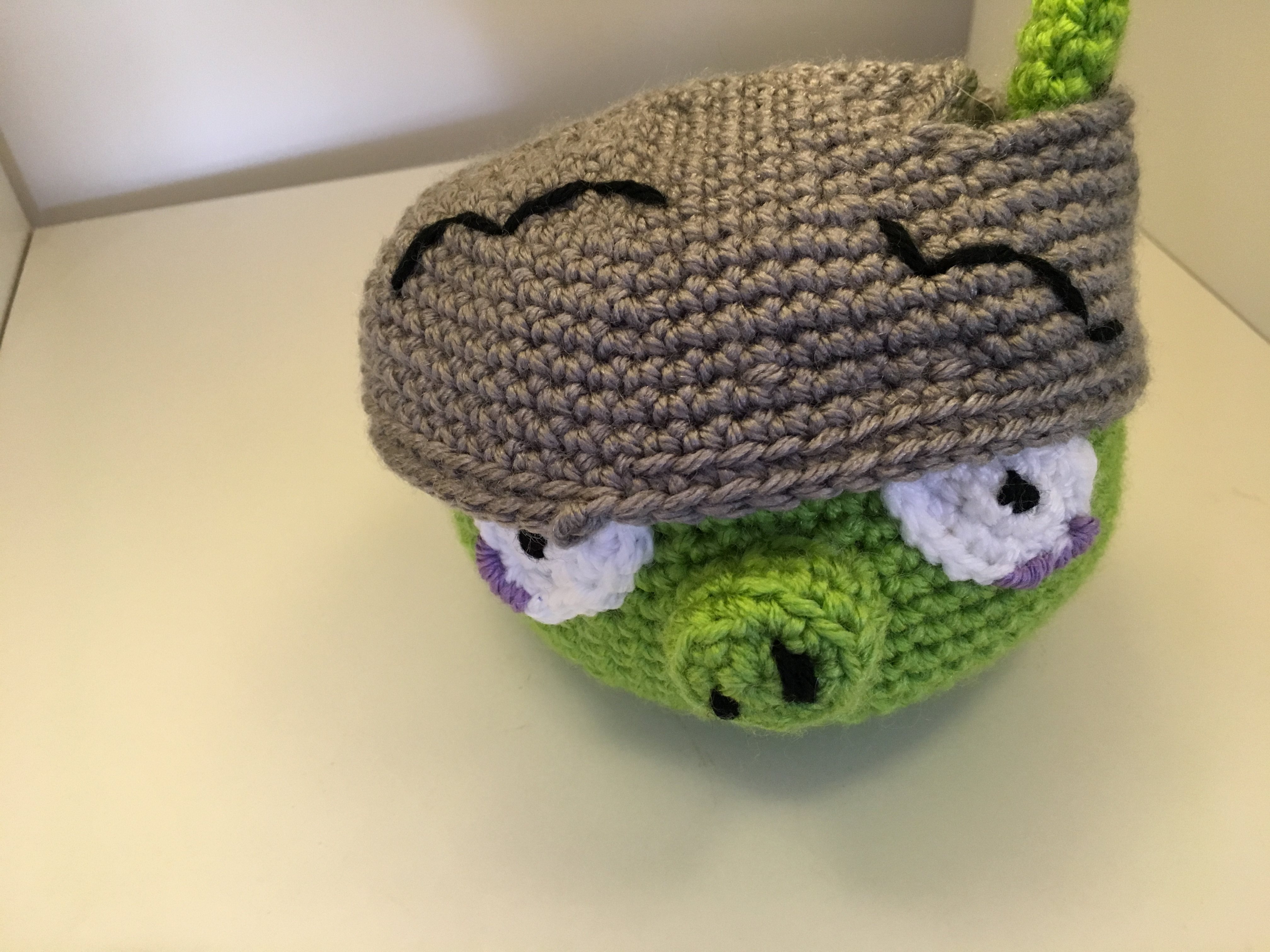 Free crochet pattern Angry Birds